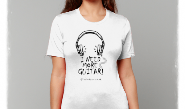 More Guitar  - Unisex Crew Neck Tee
